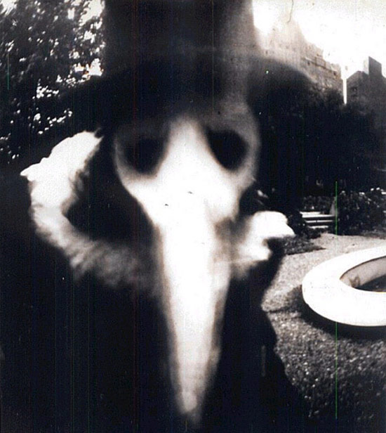 Creepy Old Vintage Photos~ scary mask