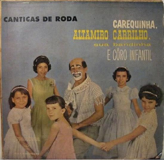 Scary Clown Cantigas de Roda ~ Funny, Creepy Bad Album Cover Art