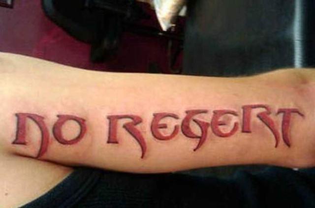 misspelled regrets worst bad tattoos fails