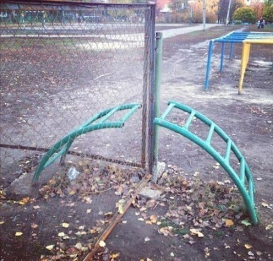 You Had One Job Fails ~ playground equipment