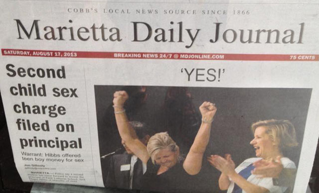 Funny & Sexually Laced Newspaper Headline Fails