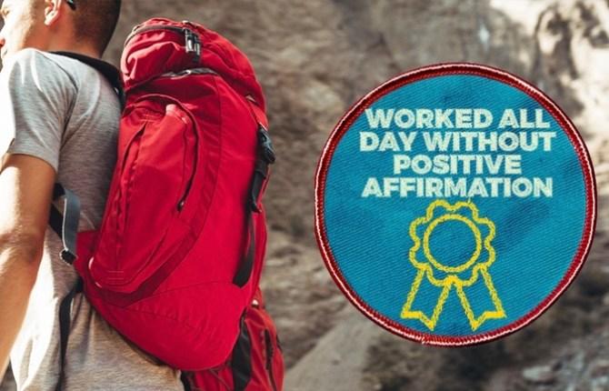 Funny Merit Badges for Millenials