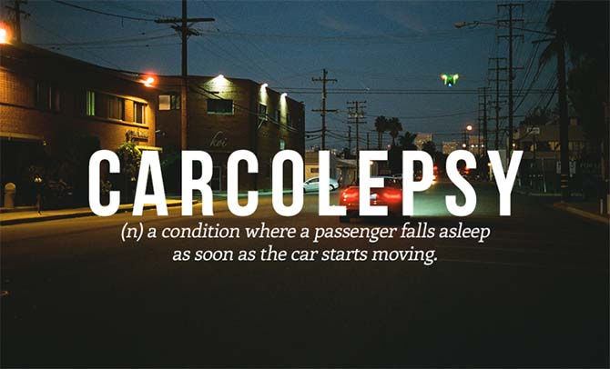 Brilliant New Words That Need To Be Added to the Dictionary: Narcolepsy