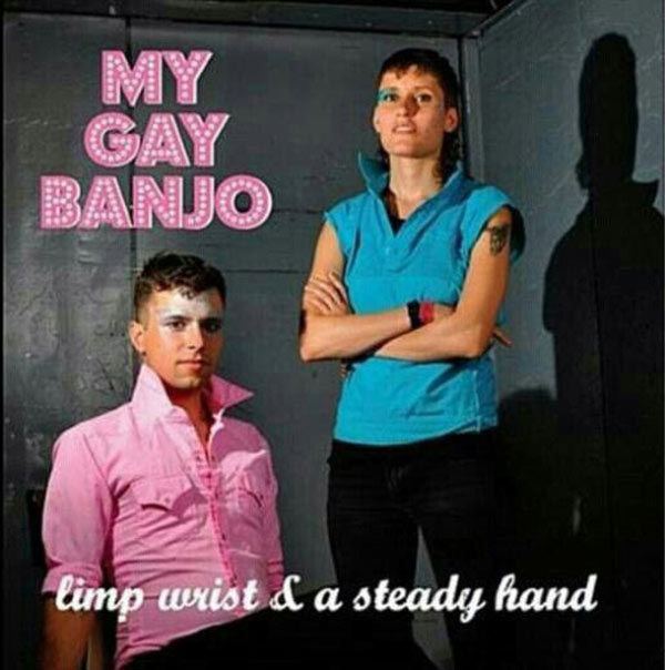 20 of the Worst Bad Album Covers~ My Gay Banjo, limp wrist and steady hand