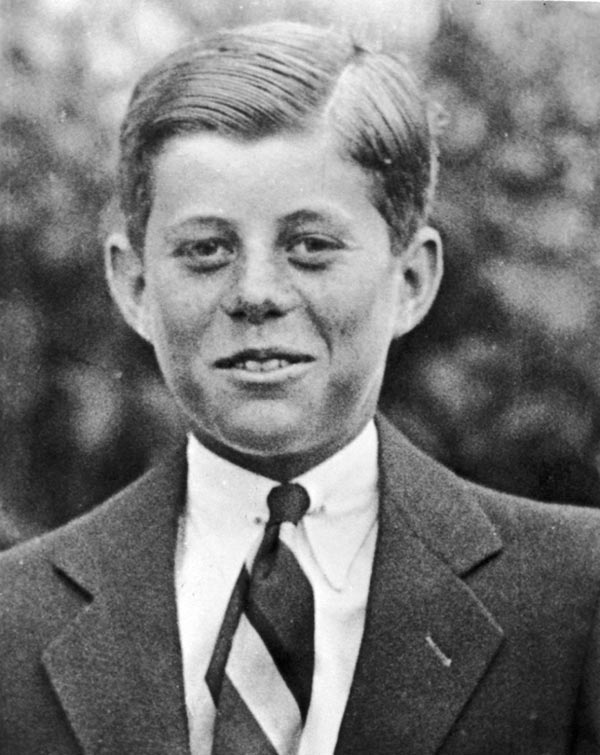 Young John F. Kennedy, 10-years-old