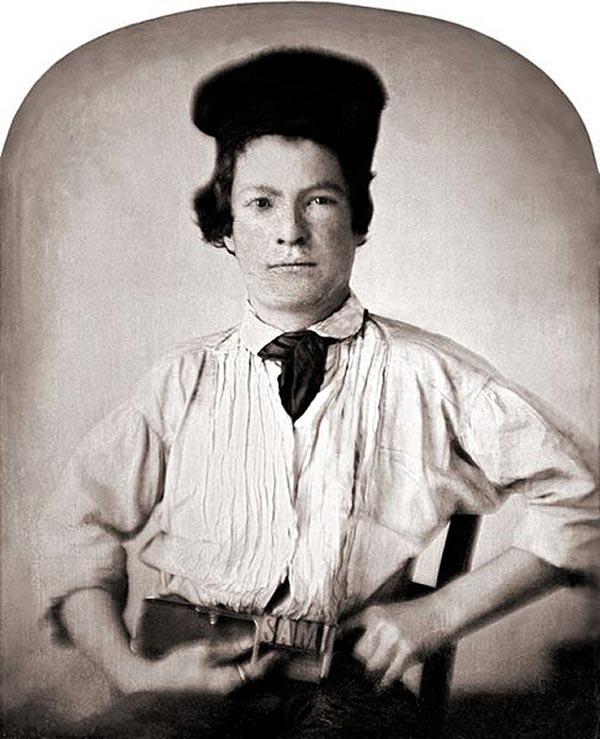 Young Mark Twain, 15-years-old