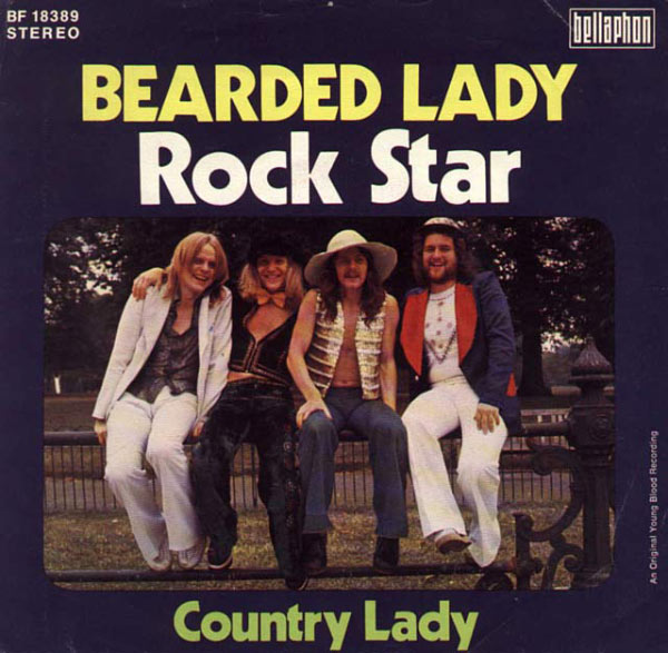 Rock Star Bearded Lady Country Lady ~ Worst Bad Classic Album Cover Art