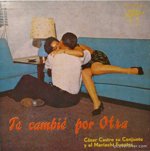 Cesar Castro su Conjunto y el Mariachi ~ The Worst Bad Classic Album Cover Art