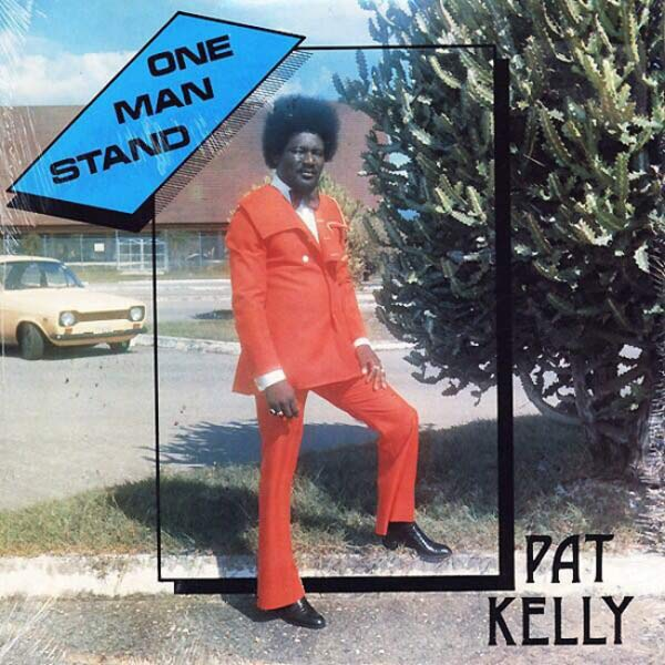 Pat Kelly One Man Stand ~ Worst Bad Classic Album Cover Art