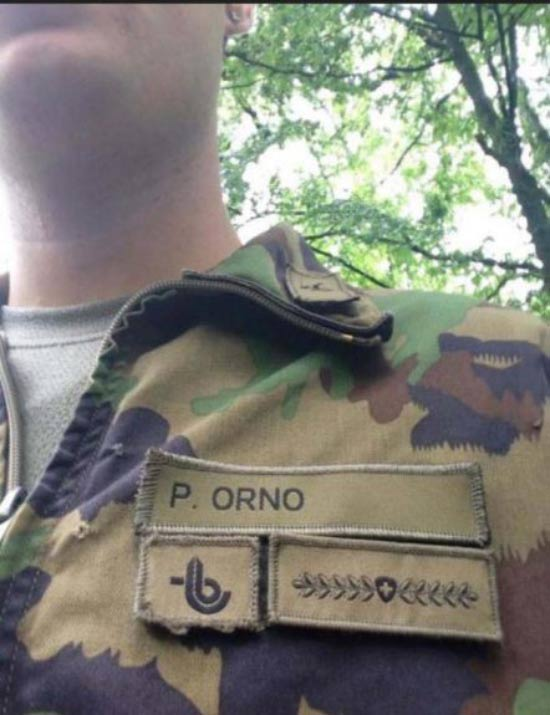 Funny pics ~ soldiers name tags p. orno