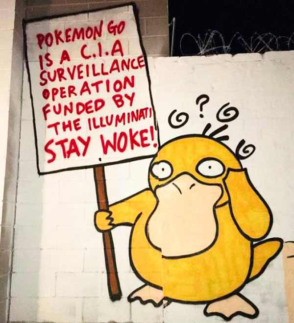 33 Funny Pics~ Pokemon Go is a C.I.A. survelliance operation funded by the Illuminati
