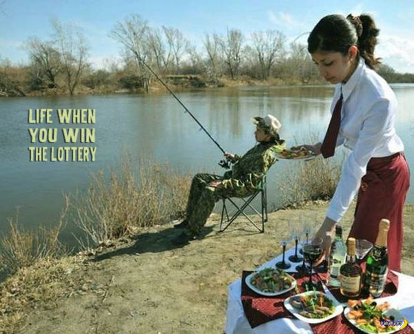 Funny Pics~ redneck life when you win the lottery