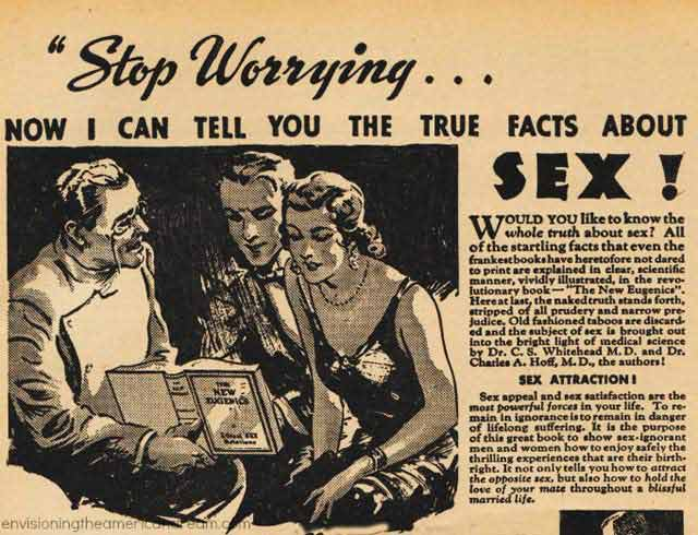 33 Funny Random Pics ~ vintage ad true facts about sex