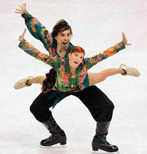 funny figure skaters