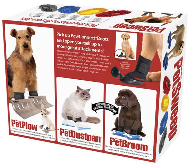 Prank Pack Funny Fake Gift Boxes ~ Pet Sweep Animal Dust Boots