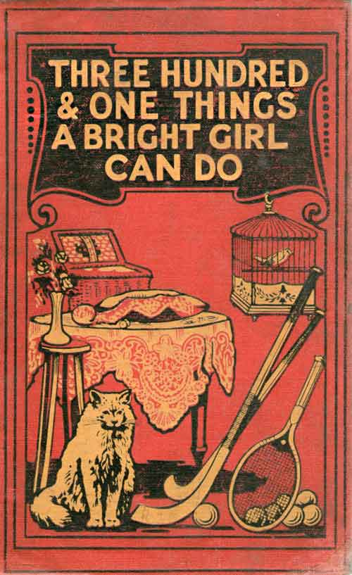 vintage books: Three Hundred & One Things A Bright Girl Can Do