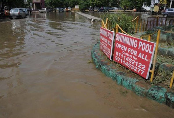 Bad Ad Placement Fails ~ swimming pool open mud puddle
