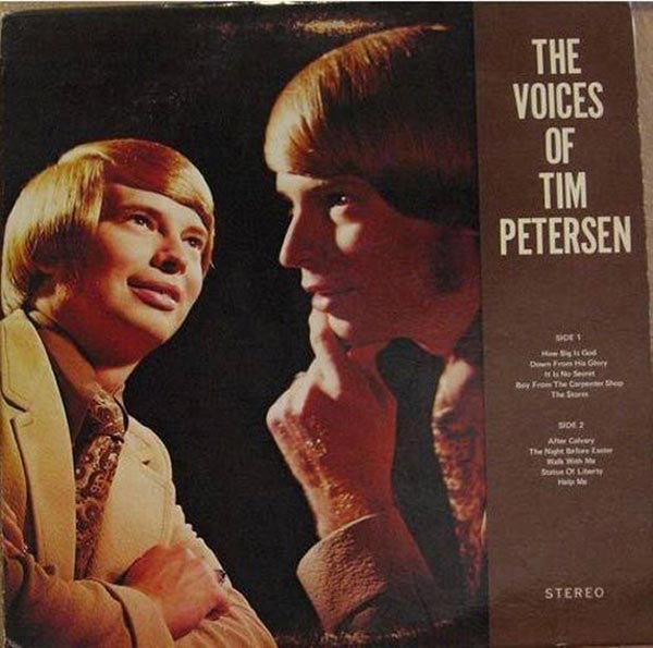 Unfortunately, all of I'm Petersen's voices were inside his head... ...The Worst Album Covers Ever!