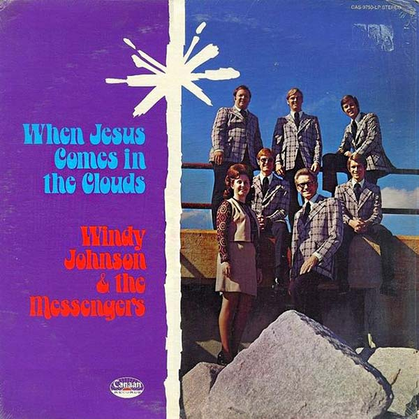 "Windy Johnson & The Messengers, ""When Jesus Comes in the Clouds"" ...Worst Gospel Album Covers Ever!"