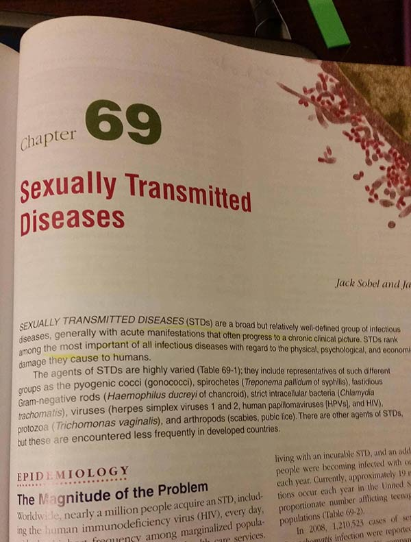35 Funny Pics ~ book fail ~ Chapter 69 Sexually Transmitted Diseases
