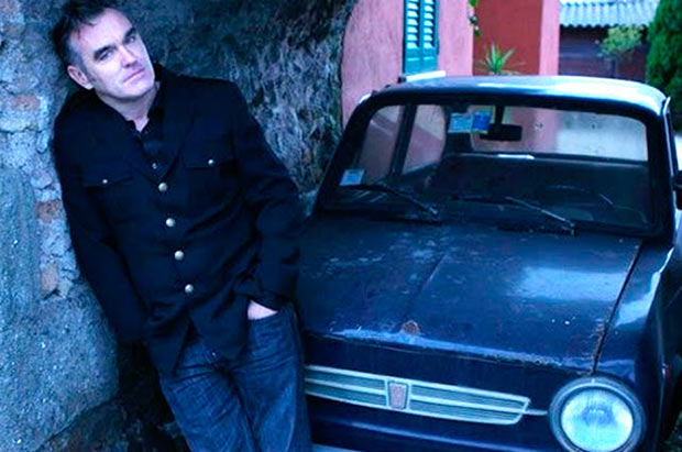 23 Rock Star & Their Classic Cars ~ Morrissey Fiat 500