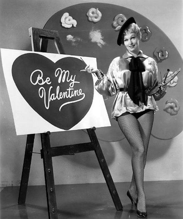 35 Funny Pics ~ vintage be my Valentine pin-up