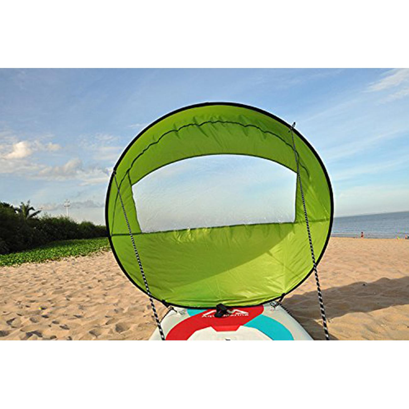 42 Windpaddle Kayak Wind Sail Kit Popup Board Downwind