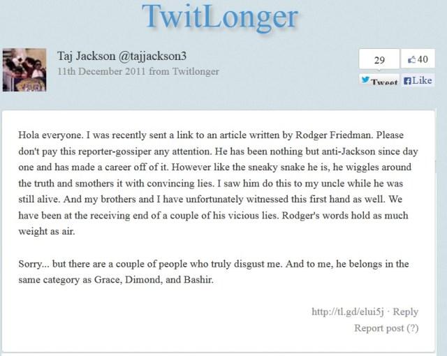 Taj 2 twit