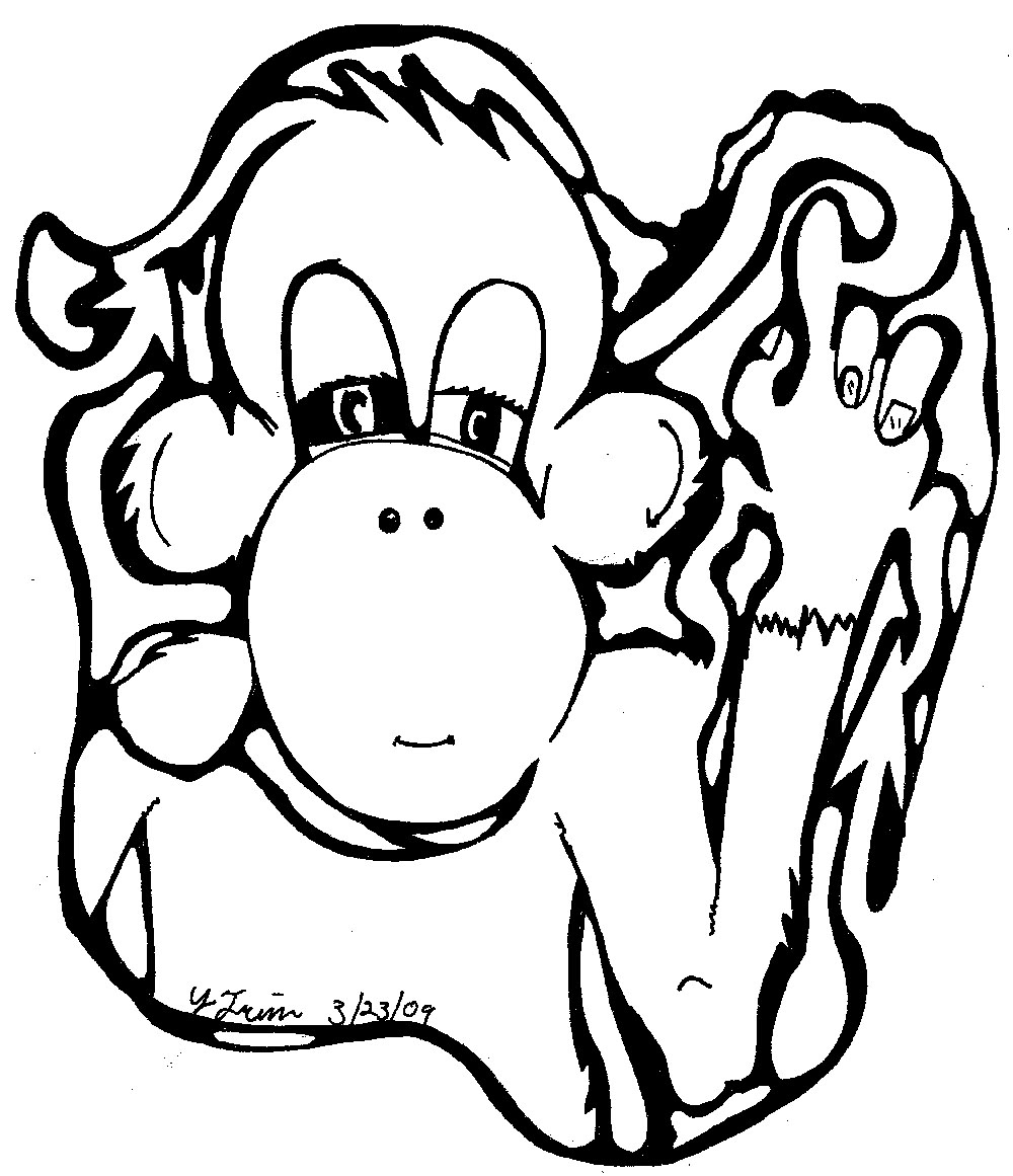 Monkey Subordinate Maze