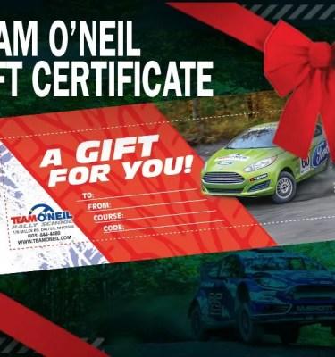 Rally Racing certificate rallycross drifting