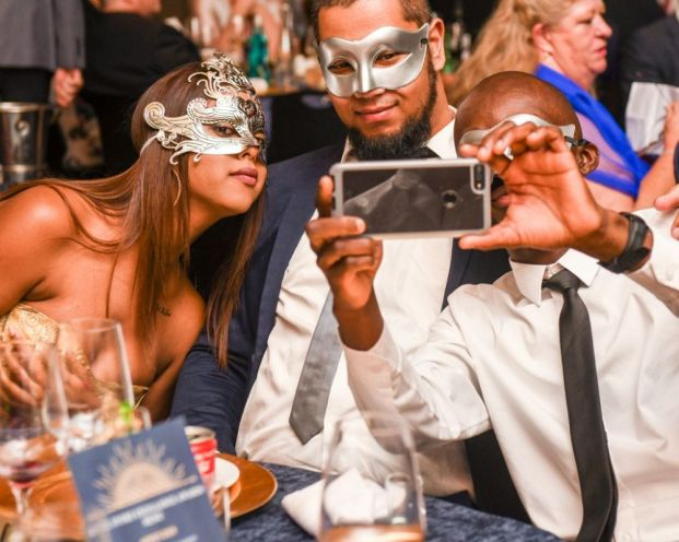 Opulent Masked Ball Corporate Event in Cape Town