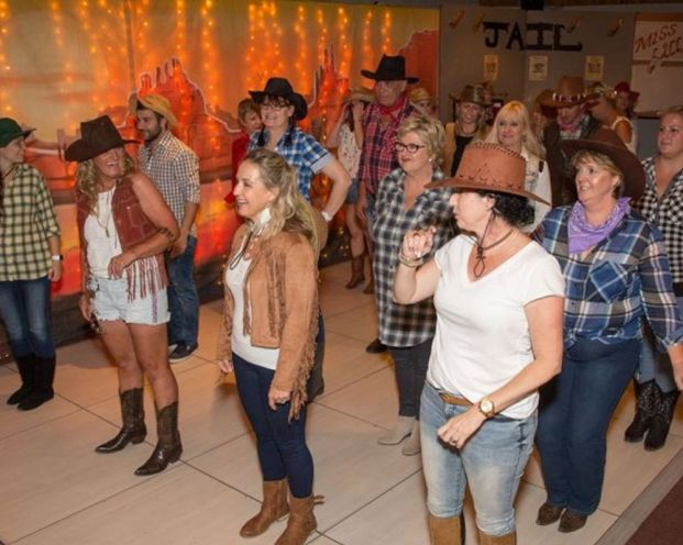 Guided Line Dancing, Cape Town