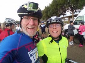 Joseph and Kathleen at the Horrible Hundred