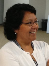 Maria Rodriguez shared the story of her parish's transformation.
