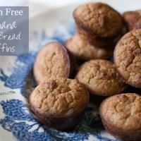 Gluten Free Banana Nut Bread Muffins ~ TeamSam Fitness