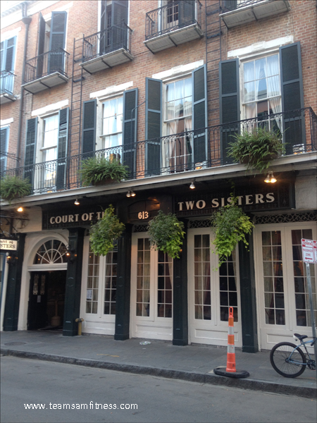 The Court of Two Sisters in NOLA
