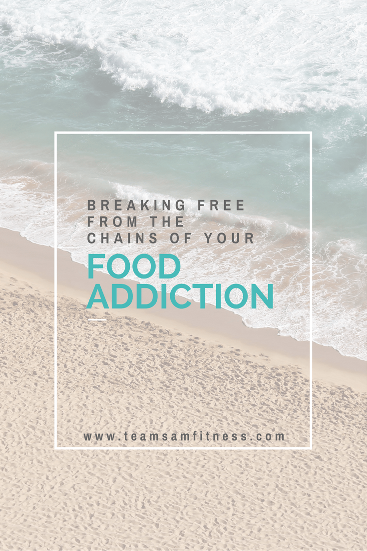 Breaking free from the chains of food addiction.