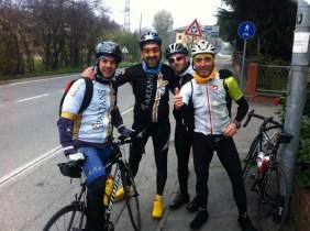 Alan, Pg, Luigi e Lorenzo