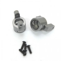CNC Machined Precision Alum. C-Hubs for Axial Wraith (1 pair) Gun Metal