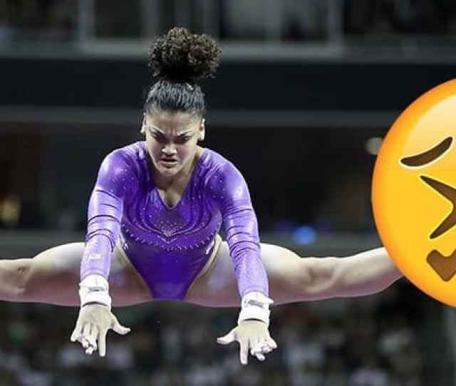 Laurie Hernandez Competes On The Uneven Bars At The 2016 U S Olympic Team Trials For Womens Gymnastics At Sap Center On July 8 2016 In San Jose Calif