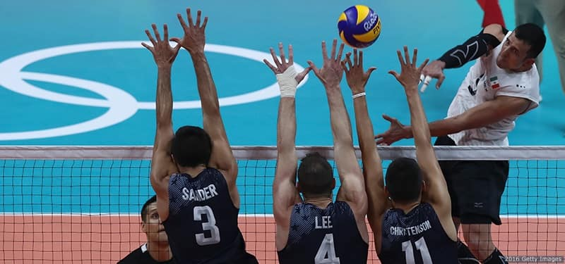 Making Up Ground, U.S. Men's Volleyball Team Rolls Mexico ...