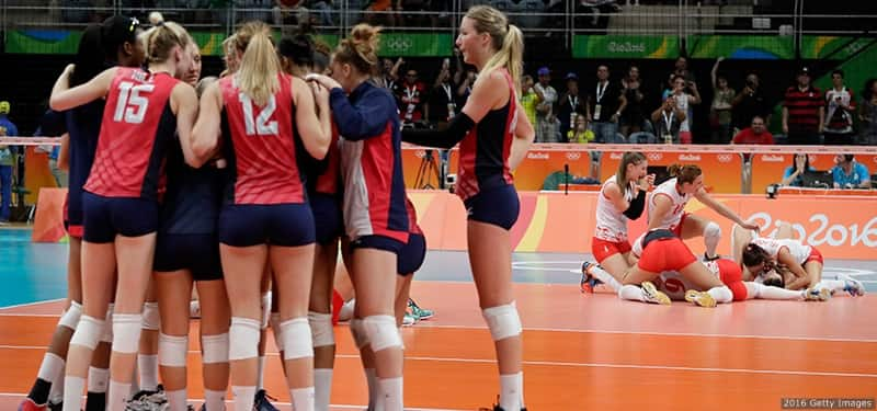 After Shocking Loss, U.S. Volleyball Team Leans On Each ...