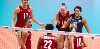Wong-Orantes (LAHS '13) helps US women improve to 7-1 at VB World Cup