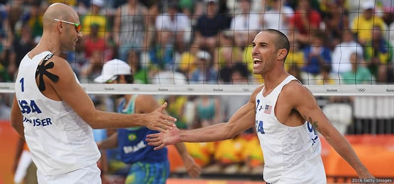 Dalhausser, Lucena Eliminated In Beach Volleyball Olympic ...