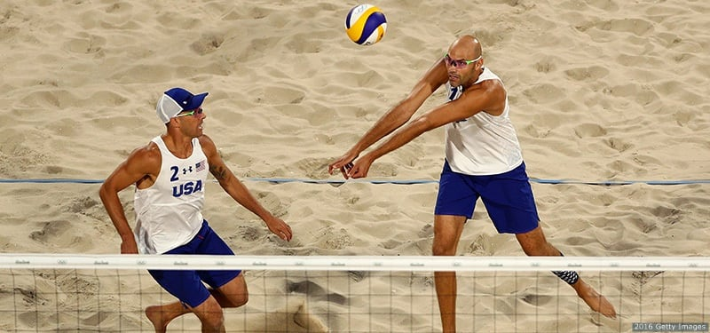 Phil Dalhausser And Nick Lucena Close Olympic Beach ...