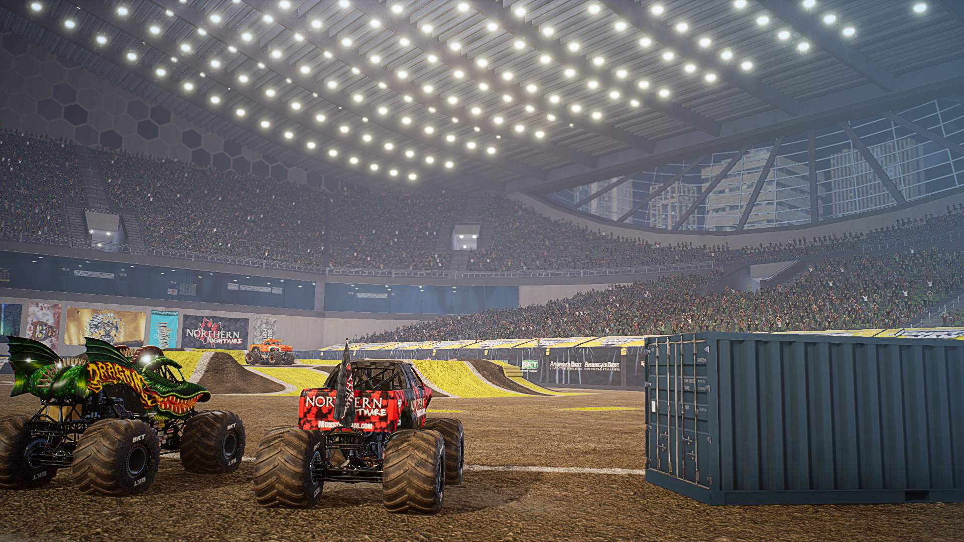 Monster Jam Steel Titans Coming To PS4 Xbox One Amp PC