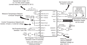 HTC400062 4 A Low Profile OEM Temperature Controller