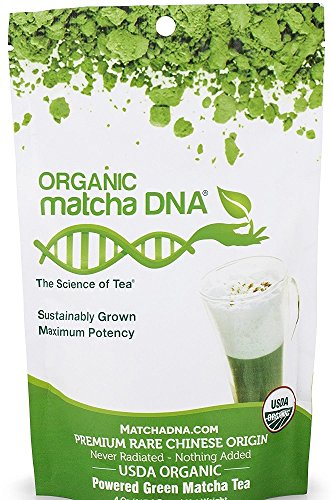 MATCHA DNA CERTIFIED ORGANIC 12 OZ MATCHA GREEN TEA POWDER