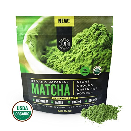 JADE LEAF ORGANIC JAPANESE 30 G STARTER SIZE MATCHA GREEN TEA POWDER