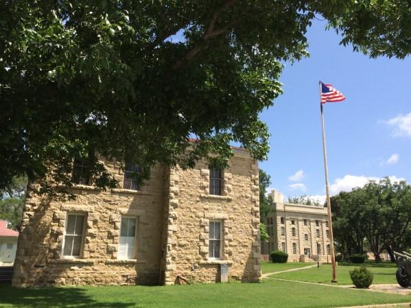 The Old Jail in Eldorado, Texas